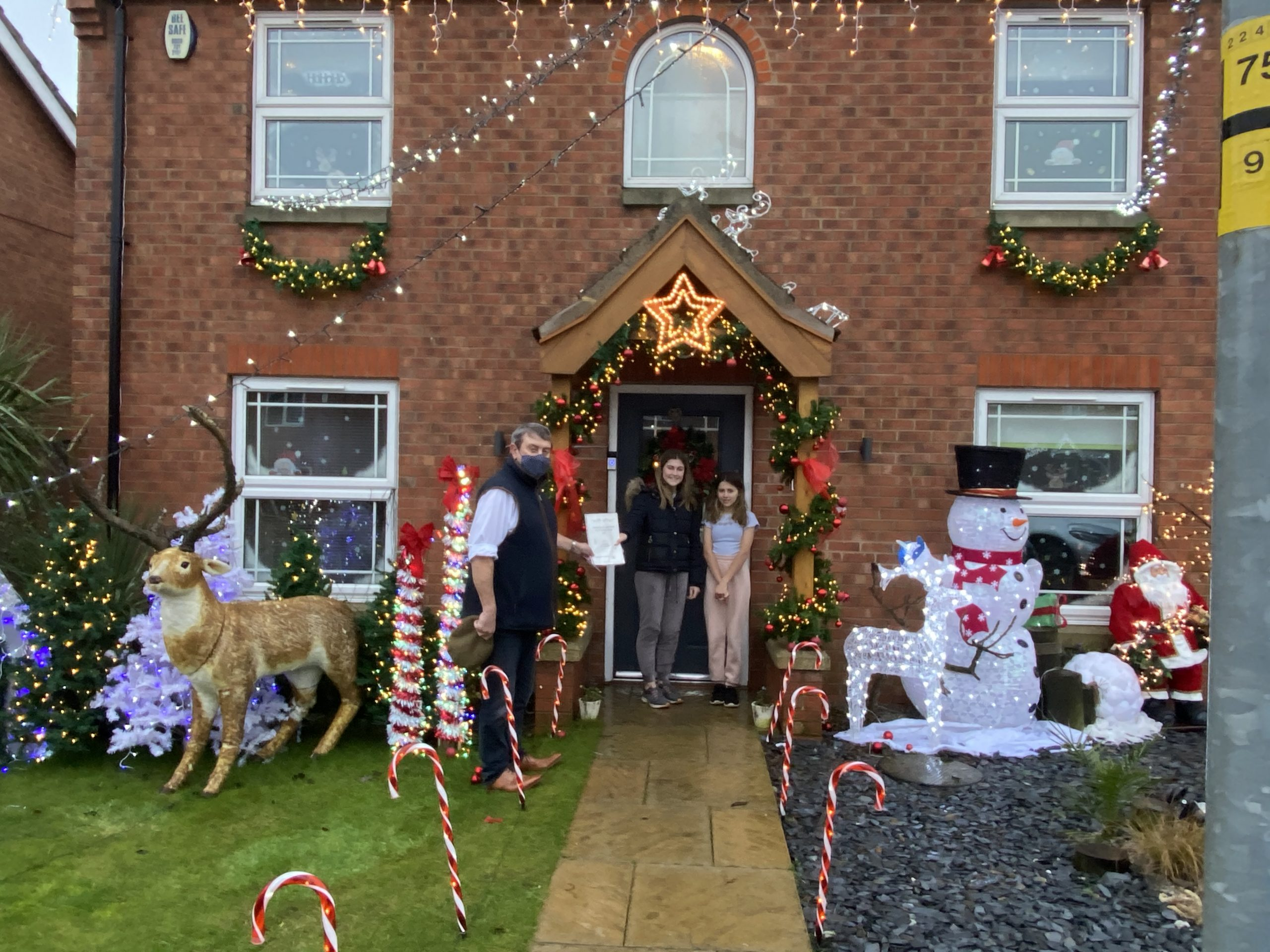 Christmas Display Residential Winner